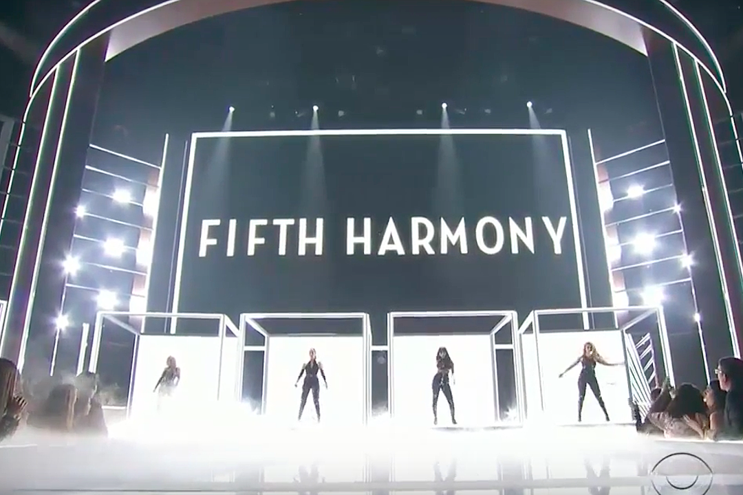 Fifth Harmony Work From Home People's Choice Awards 2017