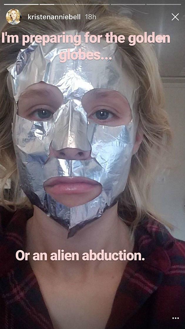 Kristen Bell Face Mask