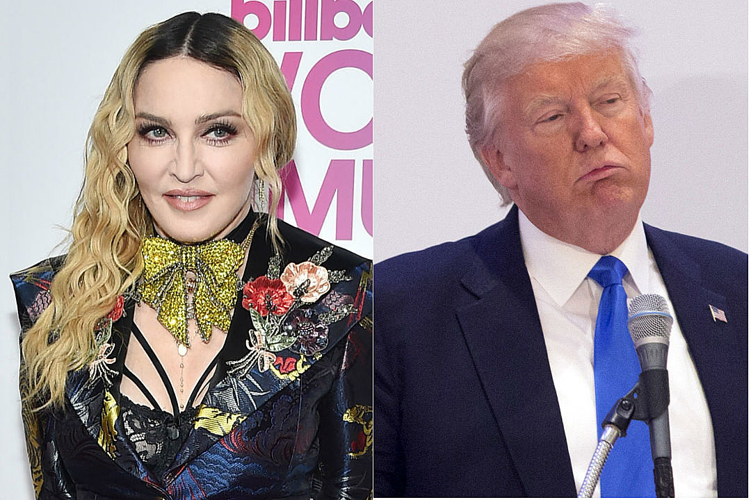 Madonna Donald Trump Critique