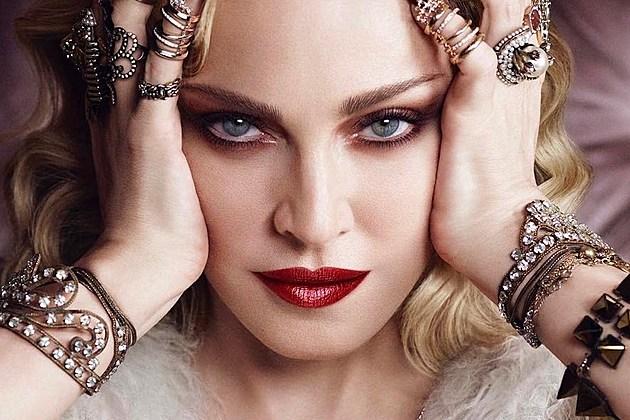 Madonna Harper's Bazaar Cover February 2017