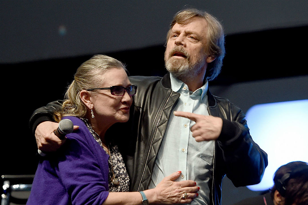 Mark Hamill Carrie Fisher Tribute