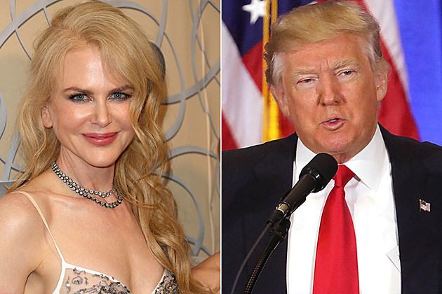 Nicole Kidman Donald Trump