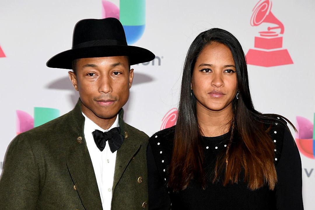 Pharrell Wife Helen Triplets