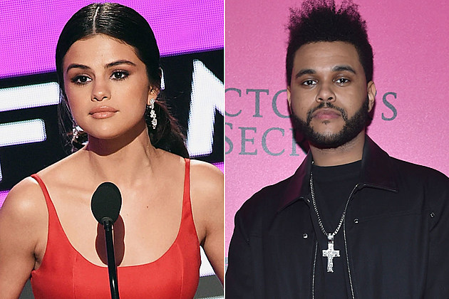 Selena Gomez The Weeknd making out