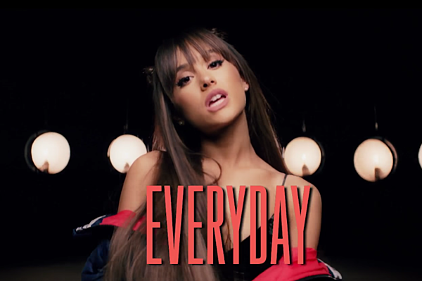 Ariana Grande Remains Aggressively Adorable in 'Everyday ...