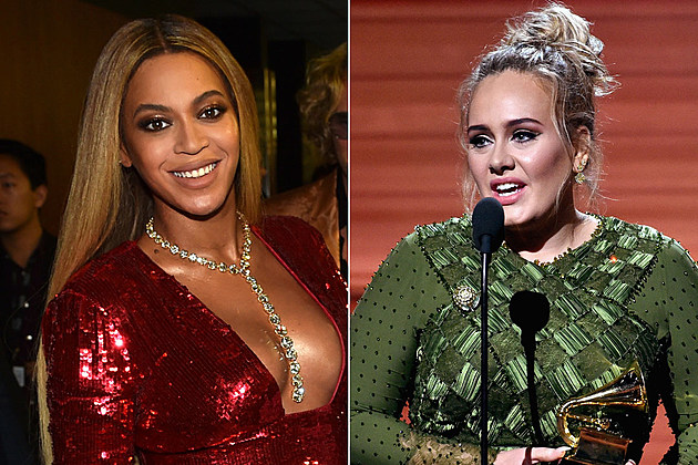 Beyonce Adele grammys 2017