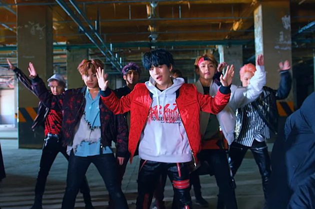 BTS Not Today Music Video