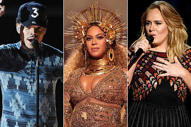 Chance the Rapper Beyonce Adele
