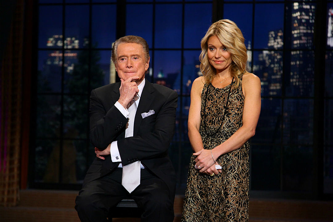 Regis Philbin Kelly Ripa talk feud