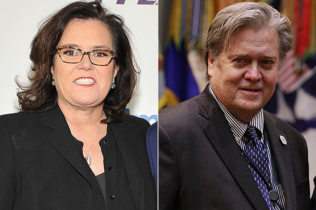Rosie O'Donnell Steve Bannon