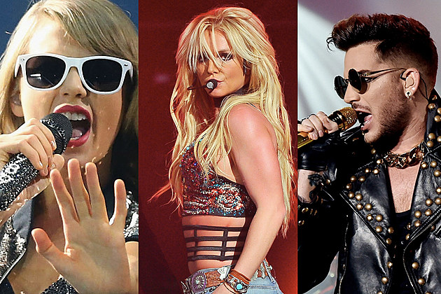 Super Bowl 2018 Poll Taylor Swift Britney Spears Adam Lambert