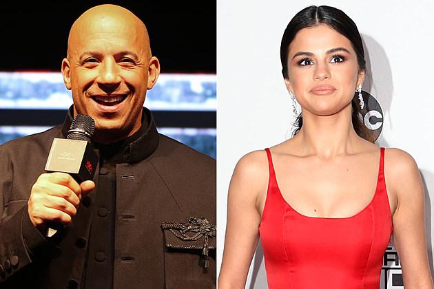 Vin Diesel Selena Gomez