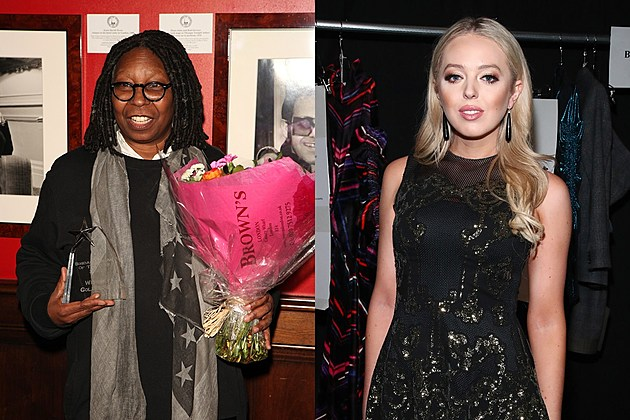 Whoopi Goldberg and Tiffany Trump