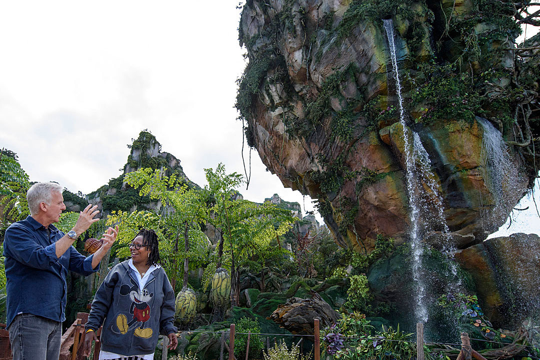 James Cameron's Avatar land at Disney is a real dream come true