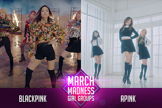 BLACKPINK Apink PopCrush Poll March Madness