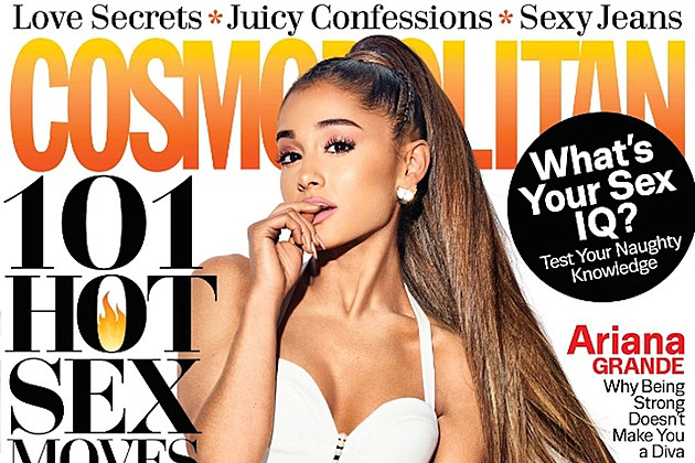 Ariana Grande Covers Cosmo, Talks Madonna And 'Adoring' Mac Miller