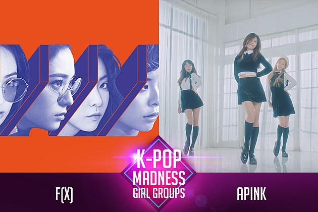 f(x) Apink March Madness Girl Group K-Pop PopCrush