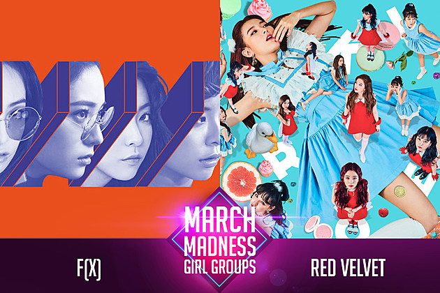 f(x) Red velvet march madness poll popcrush k-pop