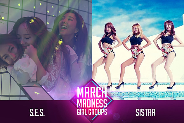 S.E.S. SISTAR K-Pop Girl Group March Madness PopCrush