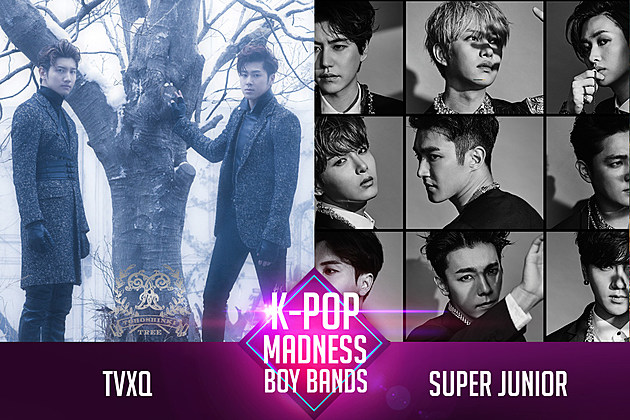 TVXQ Super Junior March Madness K-Pop Poll PopCrush