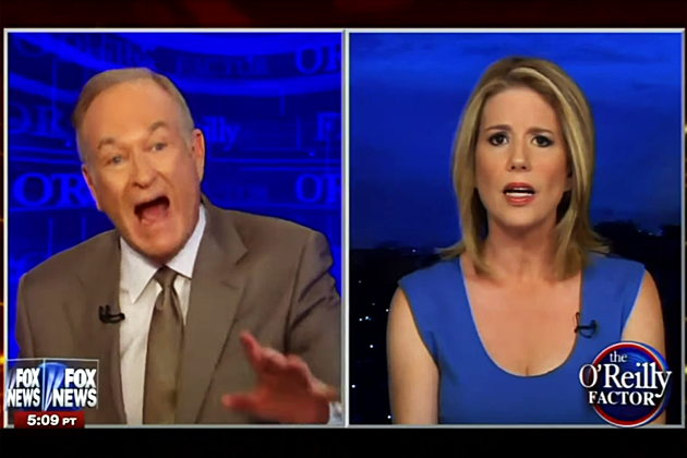Bill O'Reilly yelling