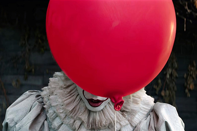 Pennywise red balloon from IT