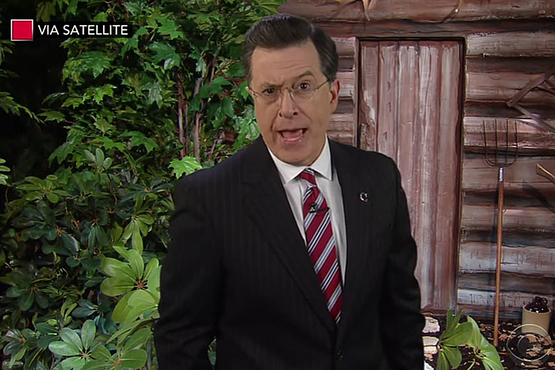 See 'Colbert Report' Return for Tearful Goodbye to Bill O'Reilly