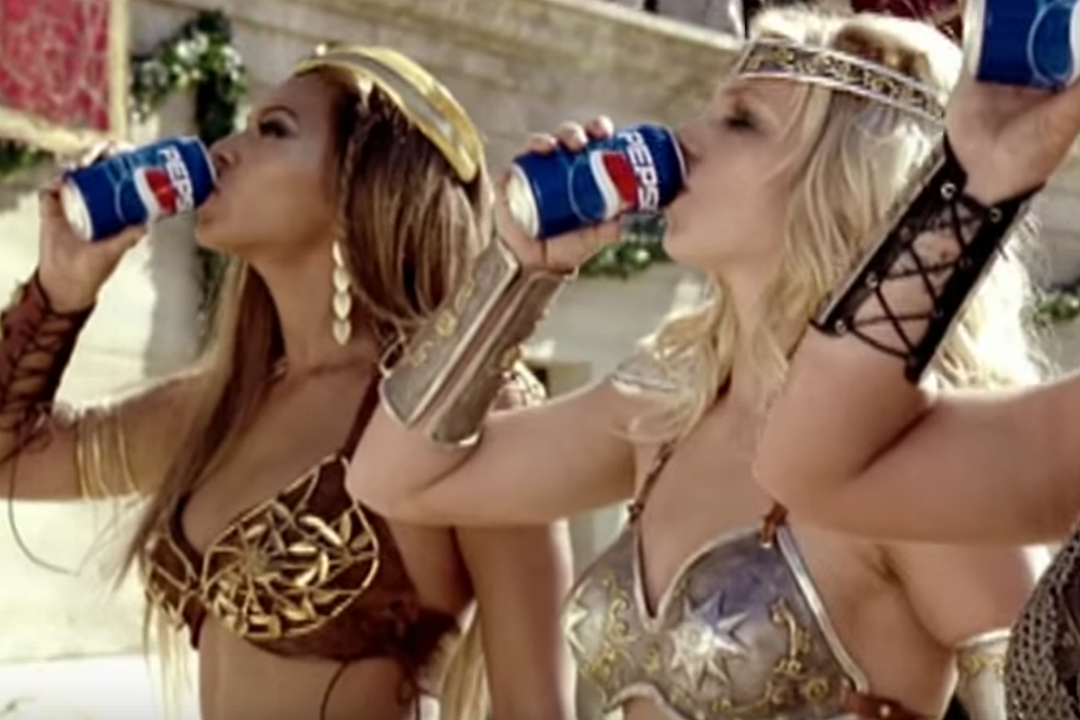 Beyonce Britney Pepsi Commercial