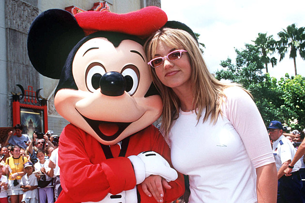 Britney Spears Mickey Mouse Disney