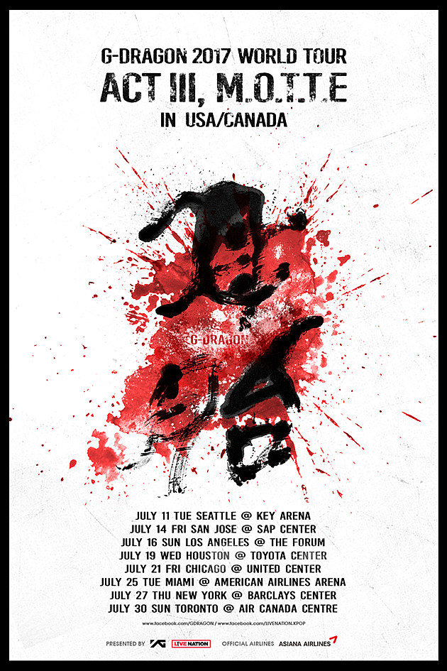 G-Dragon Tour World