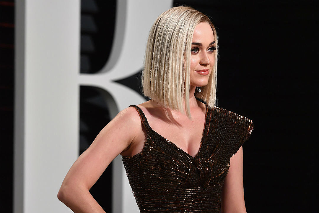 Katy Perry Chop Hair Off