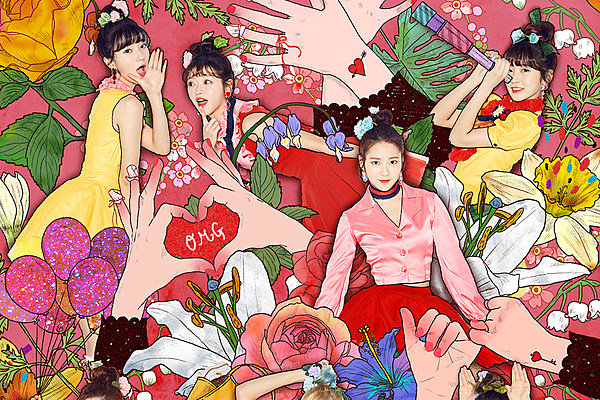 Oh my girl returns with 39 coloring book 39 listen to the Coloring book lyrics oh my girl