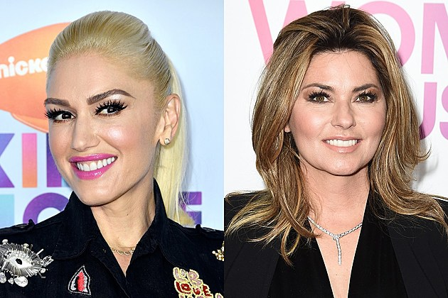 Gwen Stefani and Shania Twain on 'The Voice'