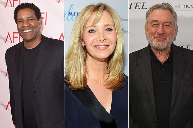Denzel Washington, Lisa Kudrow, Robert De Niro