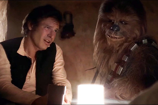 Han Solo and Chewbacca sing All Star
