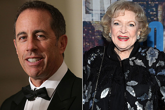 Jerry Seinfeld and Betty White: We haven't seen too much of Seinfeld on TV since his eponymous show left the air, but wouldn't you love to see his banter with the beloved White? It's like doing shtick Uncle Leo, except much better.