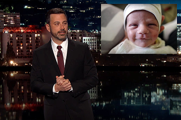 Jimmy Kimmel and son Billy