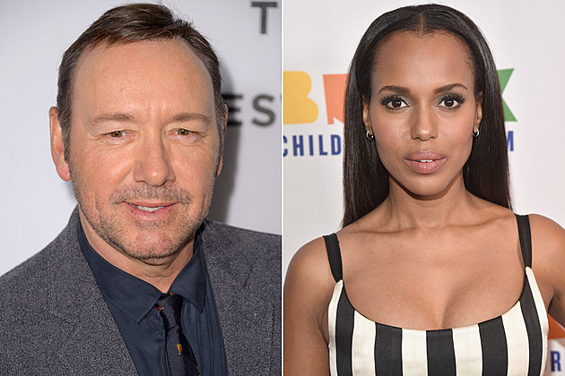 Kevin Spacey and Kerry Washington: Two heavyweight actors who star in shows about Washington?