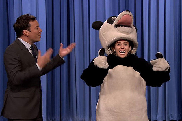 Jimmy Fallon, Miley Cyrus