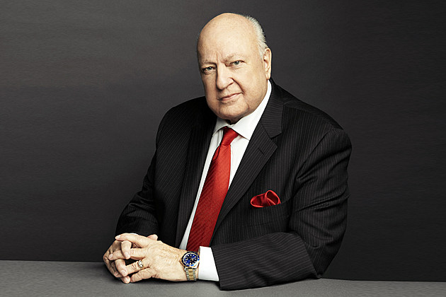 Roger Ailes red tie
