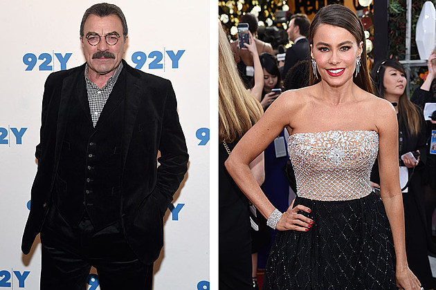 Tom Selleck and Sofia Vergara: Selleck, the seasoned veteran, going up against the manic spitfire that is Vergara?