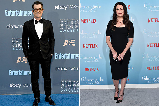 Ty Burrell and Lauren Graham: They've played very different kinds of parents on Modern Family and Gilmore Girls, so we can't help but wonder what it would look like if these two played a married couple juggling the demands of work and family in their own sitcom.