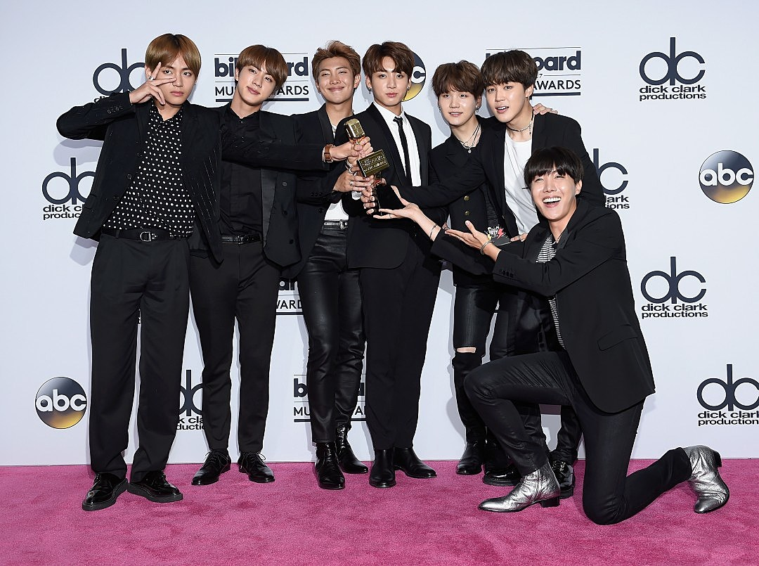 BTS 2017 Billboard Music Awards - Press Room