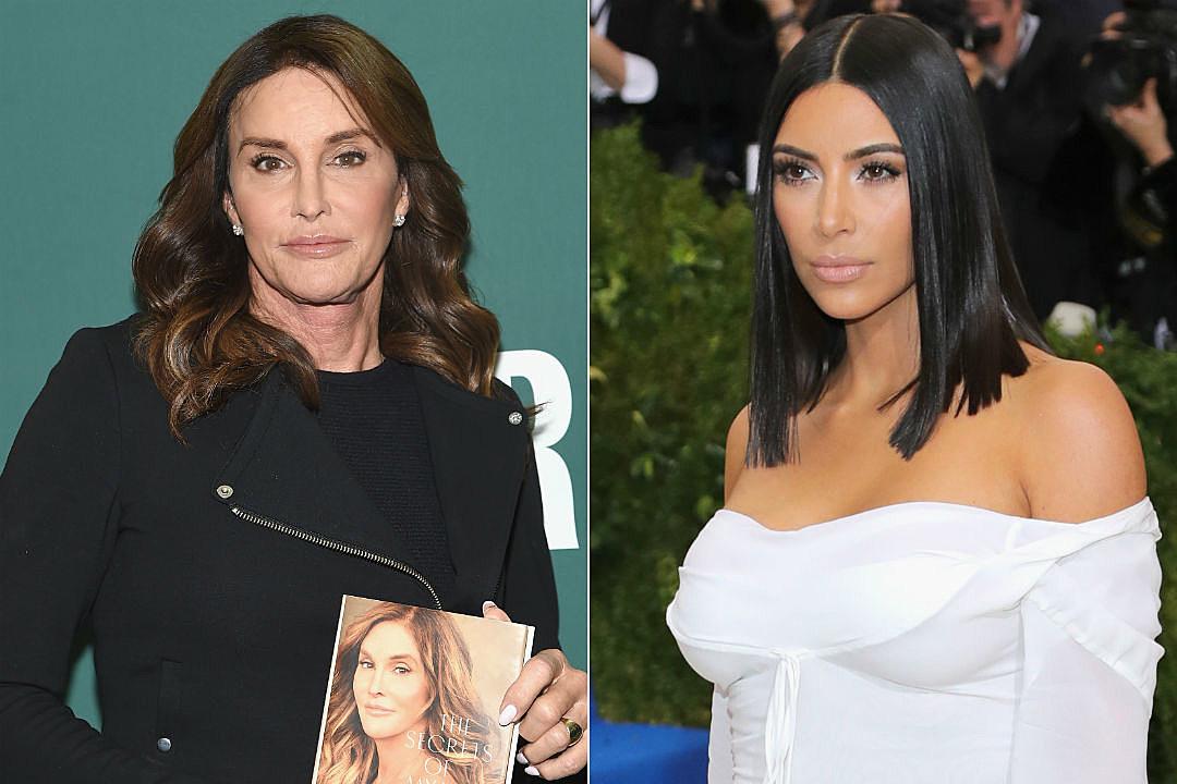 Caitlyn Jenner Kim Kardashian Fight Book
