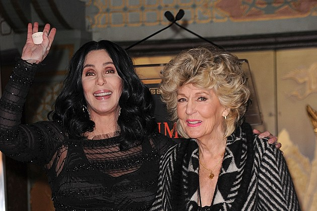 Cher Immortalized With Hand And Footprint Ceremony At Grauman's Chinese Theatre