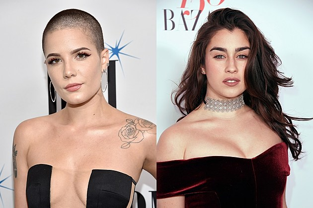 Halsey and Lauren Jauregui