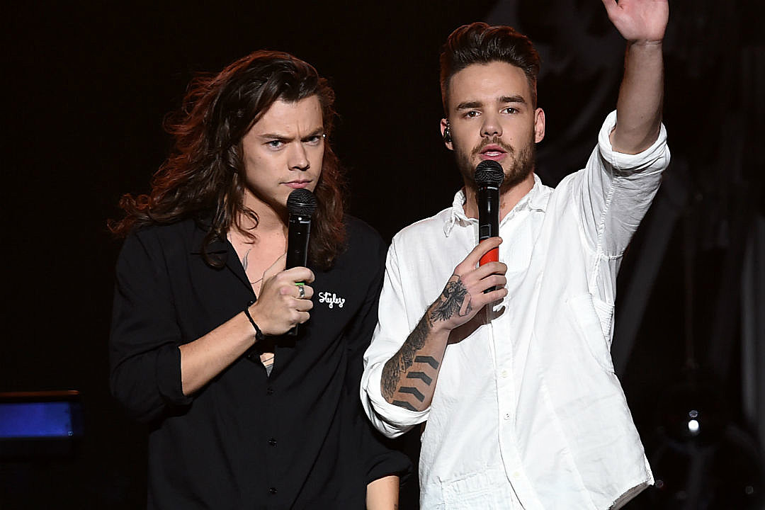 Liam Payne Shade Harry Styles