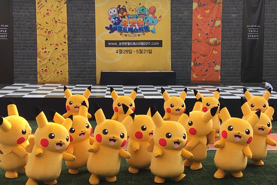 The Story Behind the Deflating Pikachu