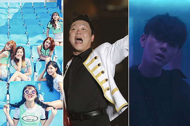Twice PSY Highlight Junhyung