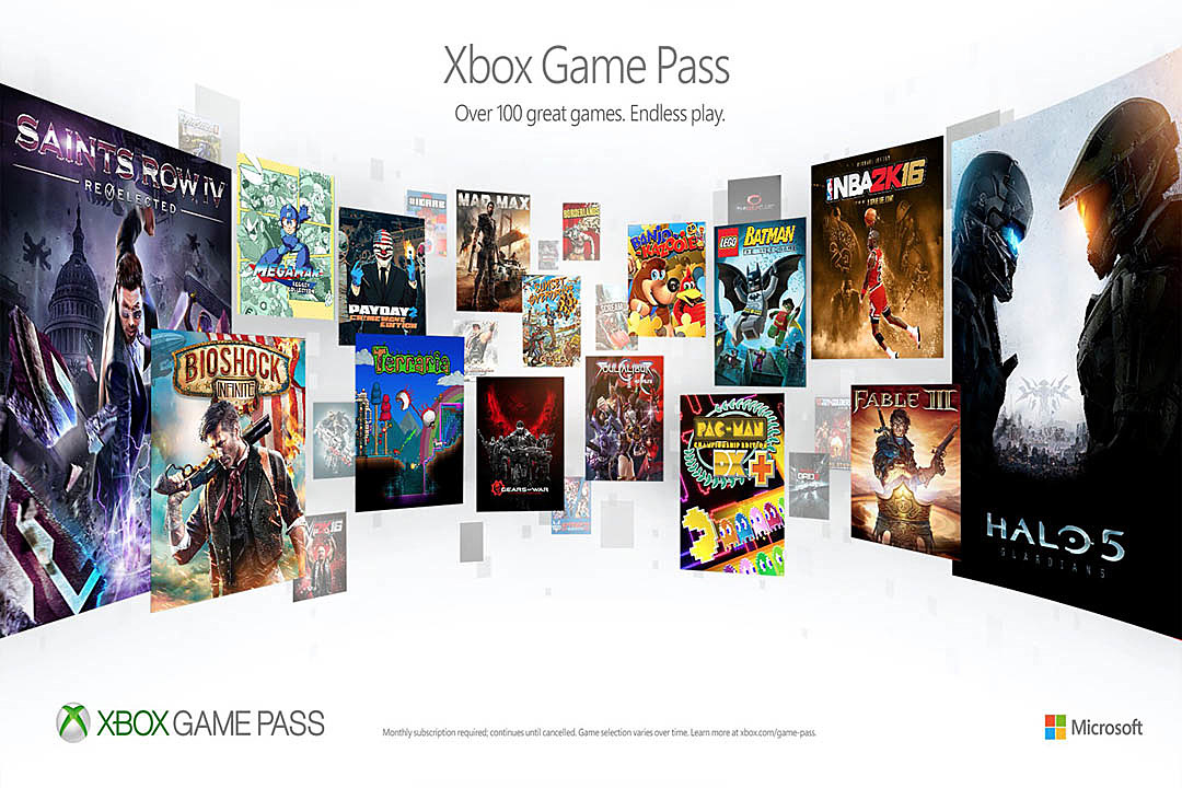 Microsoft's Netflix-Like Xbox Gaming Service Launches June 1